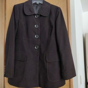 Gap Brushed Cotton Car Coat